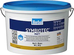 Herbol-Symbiotec® / Premium-Fassadenfarbe auf Basis Nanokomposit mit dem 4-Wetterschutz für länger saubere Fassaden. Foto: Herbol