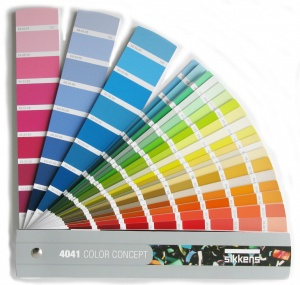 Für jede Anwendung die richtige Farbe. Die Auswahl ist groß. Foto: Sikkens