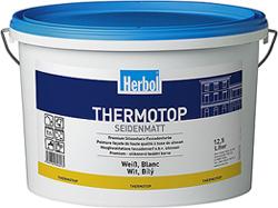 Herbol-ThermoTop / Hochwertige Spezial-Siliconharzfassadenfarbe mit hoher Farbtonstabilität und Schutz gegen Algenneubildung. Foto: Herbol