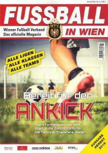 Cover Fussball in Wien_Herbst 2015