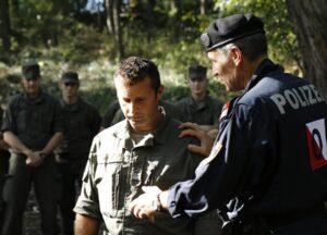 Gemeinsame Ausbildung zwischen Heer und Polizei. Foto: BMLVS/Vizeleutnant MICKLA
