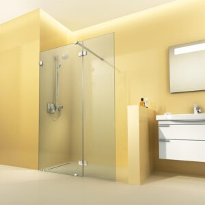 artweger walk in dusche f r kleine b der redaktion. Black Bedroom Furniture Sets. Home Design Ideas