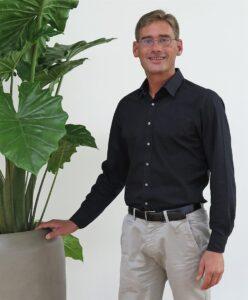 Heinrich Stahlmann ist für die Kundenbetreuung der bellaflora Raumbegrünung zuständig. Foto: bellaflora