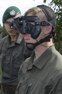 Ausbildung am Nachtsichtgerät. Foto: BMLVS/Vizeleutnant Gerhard SIMADER