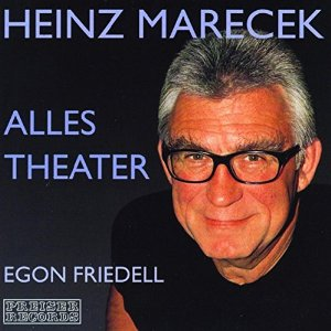 CD Cover ALLES THEATER von Egon Friedell