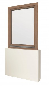 Die Fensterserien NATURELINE 78/92 und FUSIONLINE 94/108 von GAULHOFER gibt es nun auch in modernem und robustem Eichenholz. Foto: GAULHOFER