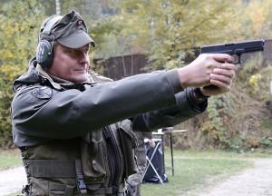 Major DI Michael Haselauer aus Linz. Zivil ist er bei einem Energieversorger beschäftigt. Foto: Bundesheer / Mickla