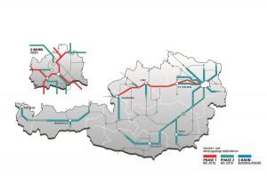 Blick auf den zügigen Zug um Zug Mobilfunk-Ausbau auf den Schienen der ÖBB. Grafik: ÖBB