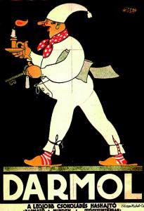 Darmol Mann-Poster.