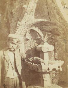 Baustelle auf dem Süd-Turm von St. Stephan im Jahre 1865. Foto: Andreas Groll / Bundesdenkmalamt