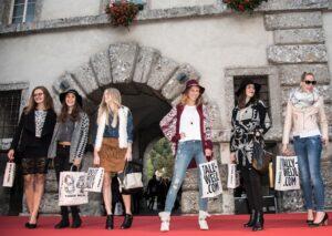 Anlässlich des Late Night Shoppings in Steyr wurden die neuesten Trends präsentiert. Foto: Johanna Auer