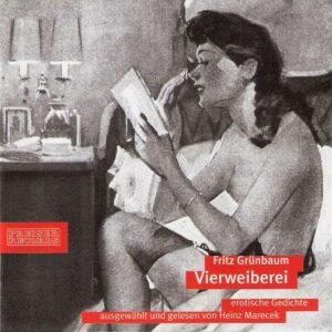 Cover CD Vierweiberei von Fritz Grünbaum. Foto: Preiser Records