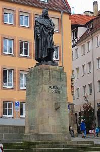Albrecht Dürer ist ein großes Kind der Stadt. Geboren am 21. Mai 1471 in Nürnberg ...