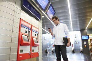 Die ÖBB bieten Gratis-WLAN auf 30 österreichischen Bahnhöfen an. Foto: ÖBB/Eisenberger