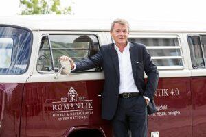 Thomas Edelkamp, operativer Vorstand der Romantik Hotels & Restaurants AG. Foto: Romantik Hotels & Restaurants AG
