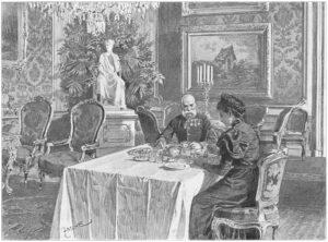 Der Kaiser bittet Sisi und vielleicht bald auch Sie zu Tisch. Foto: SKB / Sascha Rieger
