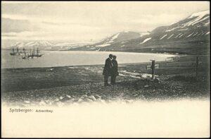 Ansichtskarte Adventfjorden. Foto: ÖNB