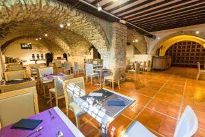 Das Restaurant in Erwartung der Team-Fußballer. Foto: Hotel Moulin de Vernègues