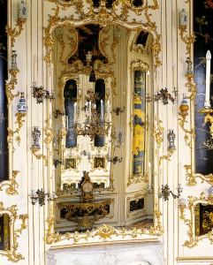 Blick ins Ovalkabinett Schloß Schönbrunn. Foto: SKB / A. E. Koller