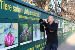 Der Foto-Künstler Daniel Zupanc einmal selbst vor der Linse.