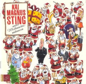 CD Cover Kai Magnus Sting unter Weihnachtsmännern