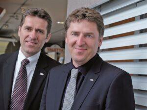 Die beiden Geschäftsführer Christian und Andreas Klotzner. Foto: VALETTA