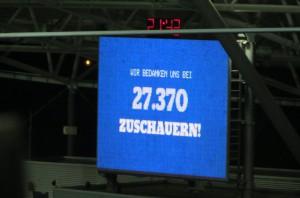 ... dass nun knapp 30.000 Menschen zu RB Leipzig gehen. Beide Fotos: oepb