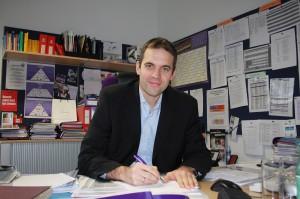 """Von der Schoellerbank zur Austria. Die """"Verpflichtung"""" von Markus Kraetschmer anno 1997 war eine der wichtigsten am Wirtschafts-Sektor in der violetten Vereins-Historie. Foto: FK Austria Wien"""