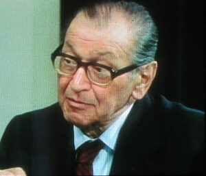 Friedrich Torberg im Jahre 1978. Foto: Erwin H. Aglas, oepb