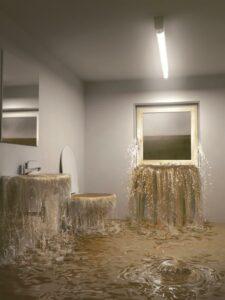 Ein wahrhaft schreckliches Bild, das zuletzt im Juni 2013 in zahlreichen Häusern Österreichs traurige Realität war. Foto: ACO