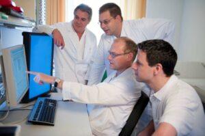 Das Team der Urologie im Krankenhaus Göttlicher Heiland. Foto: khgh