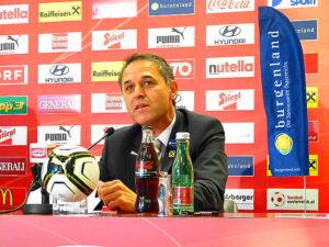 ÖFB-Teamchef Marcel Koller freut sich, dass der eingeschlagene Weg beim ÖFB weitergeht. Foto: oepb