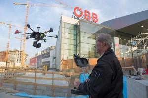 Als wahres Highlight präsentierten sich die High-Tech-Drohnen. Foto: ÖBB Zenger