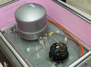 Das Herzstück der Anlage: die hochempfindlichen Sensoren. Foto: Bundesheer / Simader