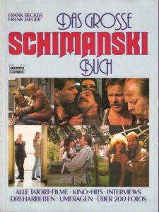 """Auch wenn sich Götz George nicht einzig und allein auf die Rolle des Horst Schimanski festnageln lassen wollte, es war dies die Figur seines Lebens. Neben zwei Kinofilmen wurde auch """"Das große Schimanski Buch"""" anno 1988 im BASTEI LÜBBE Verlag aufgelegt."""