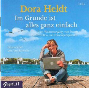 CD Cover Dora Heldt_Im Grunde ist alles ganz einfach_Scan oepb.at