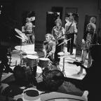 Cream performing on the Dutch television program Fanclub in 1968. Foto: Wikipedia