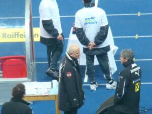 Andy Marek (Bildmitte) ist derzeit auch beim ÖFB nicht wegzudenken. Foto: oepb