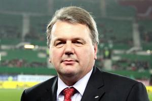 WFV-Präsident und Vorsitzender der ÖFB-Schiedsrichterkommission Robert Sedlacek. Foto: Steindy