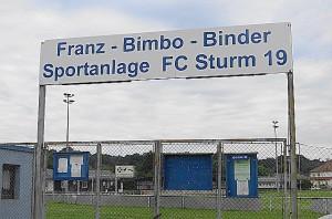 Der Sturm 19-Platz in St. Pölten / Niederösterreich erinnert heute noch an seinen großen Sohn. Foto: oepb / 22. Juni 2016