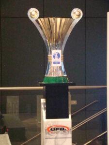 Der Pokal als Objekt der Begierde. Seit 2011 unterstützt die Samsung Electronics Austria als Hauptsponsor diesen traditionellen österreichischen Fußball-Bewerb. Foto: oepb