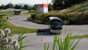 Im Driving Camp Pachfurth im Burgenland fand der Spritspar-Wettbewerb für eine saubere Umwelt statt. Foto: ÖBB/Zenger