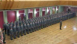 """Witterungsbedingt fand die feierliche Zeremonie zwar leider """"nur"""" im Ennser Stadt-Saal statt ..."""