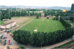Der VÖEST-Platz im Jahre 1998. Foto: oepb