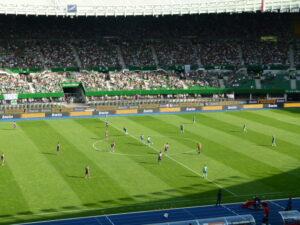 Zu einem absoluten Highlight für Austrianer in der jüngeren Geschichte avancierte das 298. Derby vom 21. August 2011, … Foto: oepb