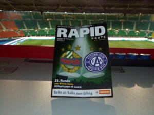 Das 300. Derby wiederum am 18. Februar 2012 war keine Werbung für den Fußball, … Foto: oepb