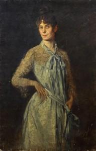 Porträt von Bertha Zuckerkandl: Vilma Elisabeth von Parlaghy Brochfeld, 1886. Bild: Bertha Zuckerkandl / Sammlung Emile Zuckerkandl 3, Literaturarchiv der Österreichischen Nationalbibliothek