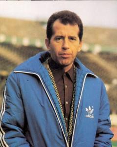 Erich Hof als Trainer des FK Austria Wien in der Saison 1979/80. Foto: © oepb