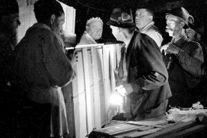 """In den Salzwelten Altaussee stehen am 30. September 2016 Themenführungen unter dem Titel """"Bomben auf Michelangelo – oder wie die Altausseer Bergleute Europas Kunstschätze retteten"""" auf dem Programm. Foto: BDA Wien"""