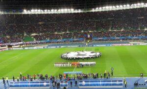 So war es im Herbst 2013 im Rahmen der Champions League gegen den FC Porto. Foto: oepb